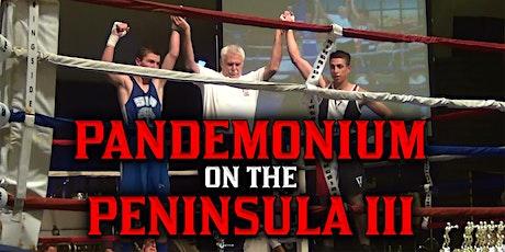 Pandemonium on the Peninsula III tickets