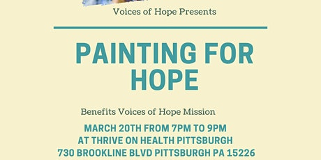 Painting for Hope(Old Window Painting Class) tickets