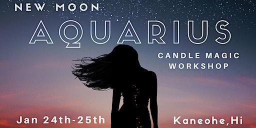 Aquarius New Moon Candle Magic Workshop