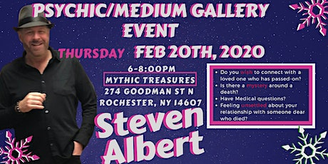 Steven Albert: Psychic Gallery Event - Mythic Treasures 2/20 tickets