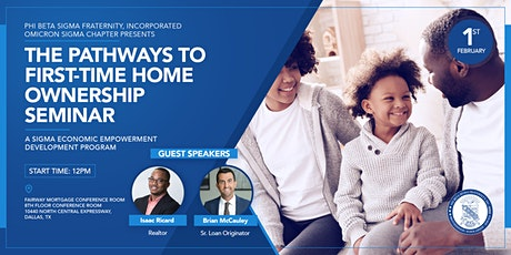 The Pathway To First-Time Home Ownership tickets