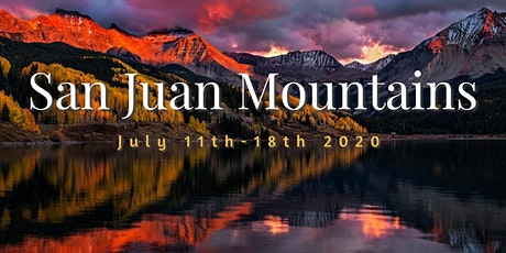 San Juan Mountains Summer Photo Adventures. tickets