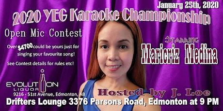 YEG Karaoke Night Hosted By J. Loe, Starring Maricriz Medina tickets