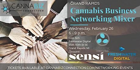 Grand Rapids Cannabiz Connection Networking Mixer tickets