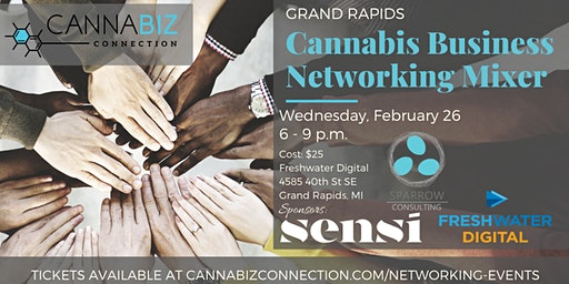 Grand Rapids Cannabiz Connection Networking Mixer