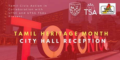 Tamil Heritage Month City Hall Reception tickets
