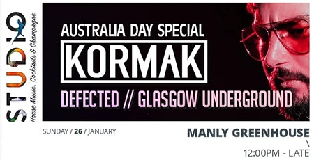 Studio Australia Day feat Kormak tickets