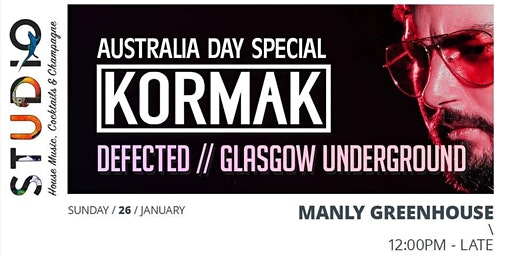 Studio Australia Day feat Kormak