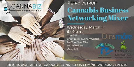 Metro Detroit Cannabiz Connection Networking Mixer tickets