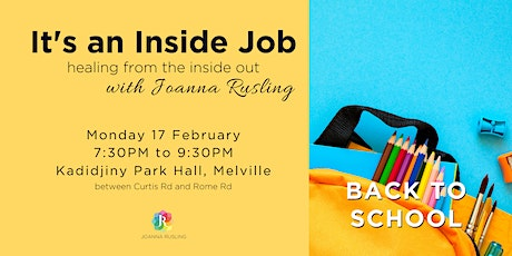 PERTH - It's an Inside Job with Joanna Rusling  tickets