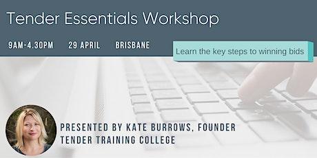 Tender Essentials Workshop tickets