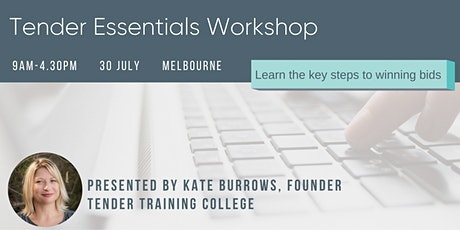 Tender Essentials Workshop tickets