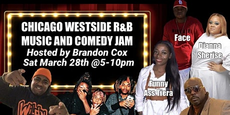 BRANDON COX WESTSIDE R&B AND COMEDY JAM tickets