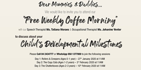 Coffee Morning with 7DMC - The Chatterboxes (Ages 2-3 years) tickets