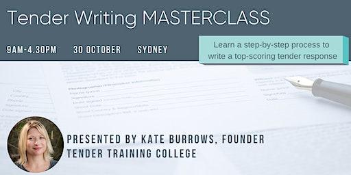 Tender Writing MASTERCLASS