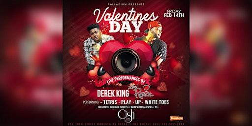 Derek King & LoveRance performing live on Valentines Day.