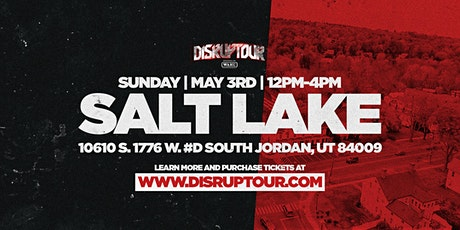 DISRUPTOUR SALT LAKE CITY tickets