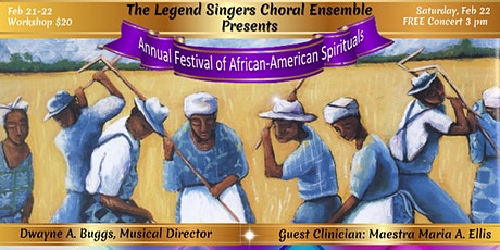 Annual  Festival of African-American Spirituals tickets