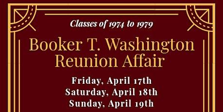 Booker T Washington Reunion Affair (1974-1979) tickets