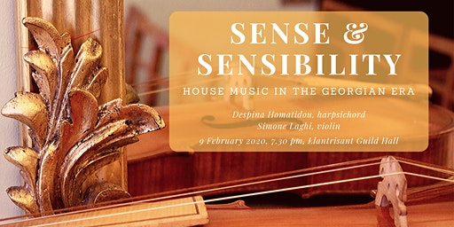 Sense and Sensibility: Violin and Harpsichord concert in Llantrisant