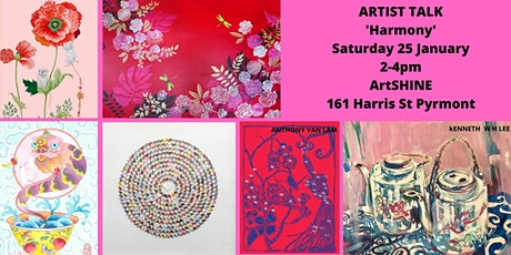 Harmony  - Chinese Australian Artists Talks Celebrate Lunar New Year 2020 tickets