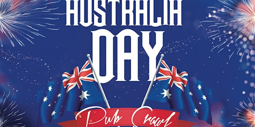 AUSTRALIA DAY PUB CRAWL | PARTY FOR A CAUSE
