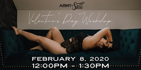 ARMY of SASS Langley - Valentines Day Workshop tickets