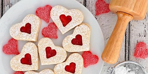 Valentine's Day decadent dessert indulgence