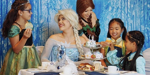 Valentine's Tea Party with Elsa