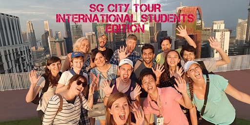 Singapore City Tour : International Students Edition