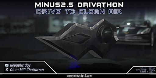 Minus2.5 Drivathon - Drive to Clean Air