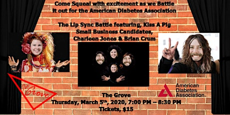 Lip Sync Battle For the Cure: Small Business Showdown to Kiss The Pig tickets