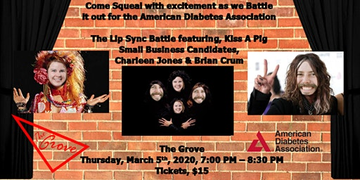 Lip Sync Battle For the Cure: Small Business Showdown to Kiss The Pig