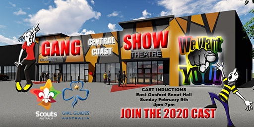 Cast Induction - Central Coast Gang Show 2020