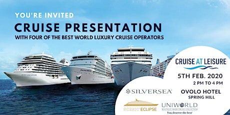 2020 Luxury Cruise Presentation - Brisbane tickets