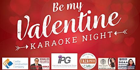 Be my Valentine tickets