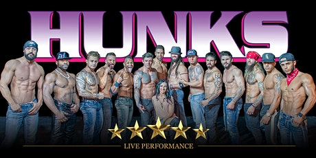 HUNKS The Show at Stand Up Live (Huntsville, AL) tickets