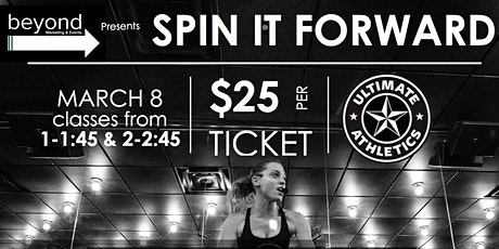 Spin It Forward in support of Cardiac Kids tickets