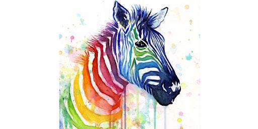 Rainbow Zebra - The Fiddler Rouse Hill
