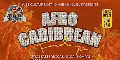 Afro Caribbean Fridays tickets