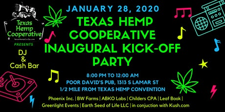 Texas Hemp Cooperative After Party tickets