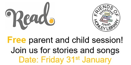 SING! Free parent and child session - join us for stories and songs! tickets