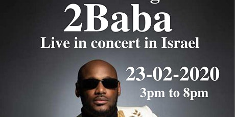 Social Evening with 2Baba, Live in concert in Israel tickets