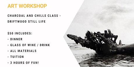 Charcoal & Chill Class - Driftwood tickets