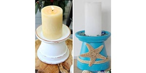 Make a Candle Holder - Craft Night at Bonnie Doon...