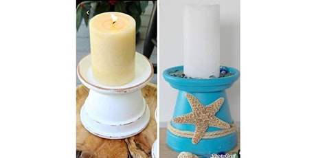 Make a Candle Holder - Craft Night at Bonnie Doon Hall. Paint Night. $10 tickets tickets