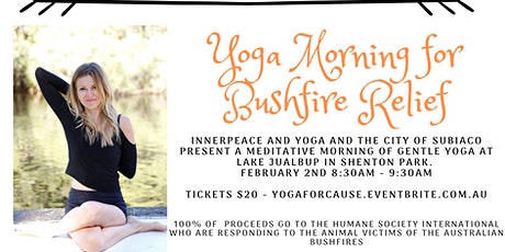 Yoga For Bushfire Relief Morning at Lake Jualbup tickets