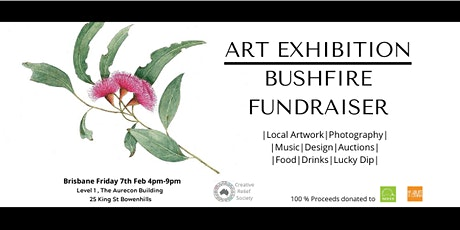 Creative Relief|Art Exhibition Bushfire Fundraiser|BNE tickets
