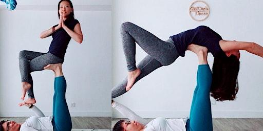 Acro Yoga Workshop on Valentine's Day 15th Feb 2020