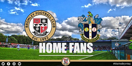 Bromley v Sutton United (HOME FANS) tickets